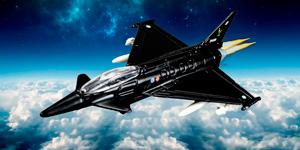 Игрушки для мальчиков.  Истребитель Eurofighter Typhoon.  Новые видео для детей.